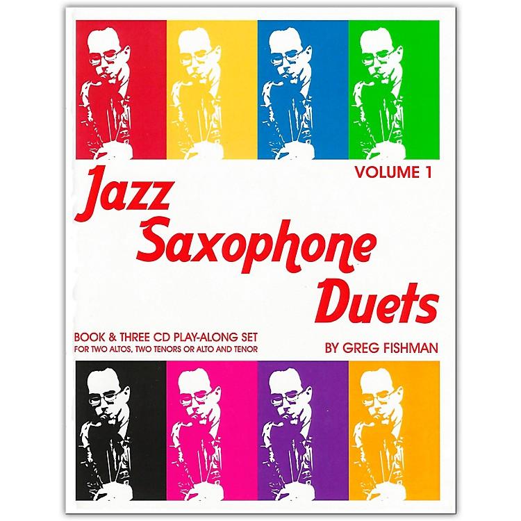 Jamey AebersoldJazz Saxophone DuetsBook/CDs