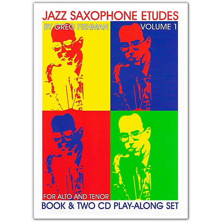 Jamey AebersoldJazz Saxophone EtudesBook/CDs