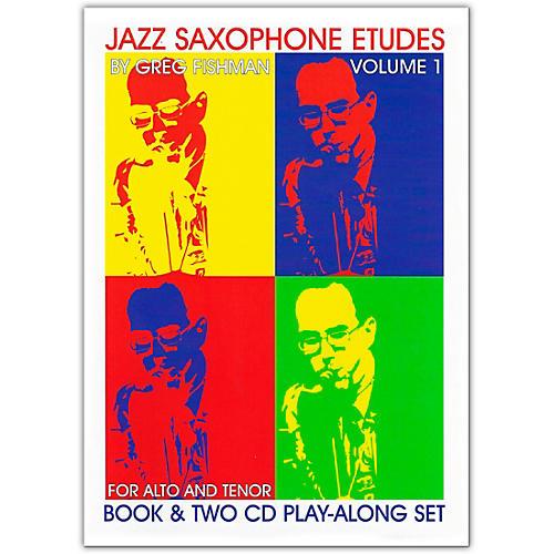 Jamey Aebersold Jazz Saxophone Etudes Book and CDs