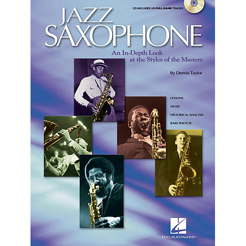 Hal Leonard Jazz Saxophone Sax Instruction Series Softcover with CD Written by Dennis Taylor-thumbnail