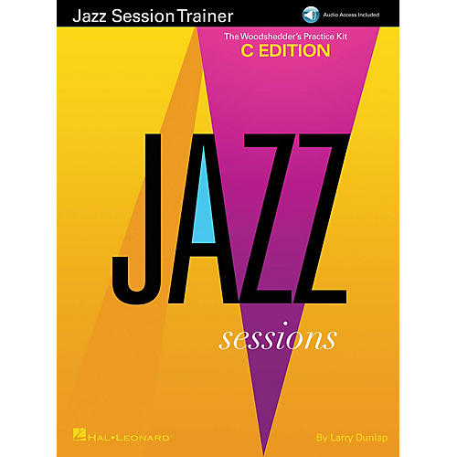 Hal Leonard Jazz Session Trainer Jazz Instruction Series Softcover Audio Online Written by Larry Dunlap-thumbnail
