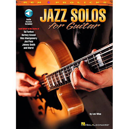 Hal Leonard Jazz Solos for Guitar Book with CD-thumbnail
