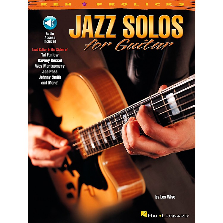 Hal Leonard Jazz Solos for Guitar Book with CD