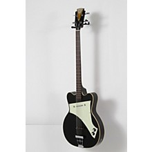 Kay Vintage Reissue Guitars Jazz Special Electric Bass Guitar Level 2 Black 190839106339