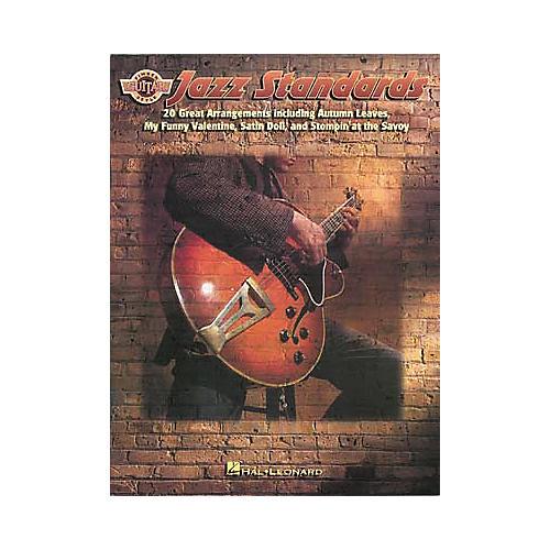 Hal Leonard Jazz Standards for Fingerstyle Guitar Book