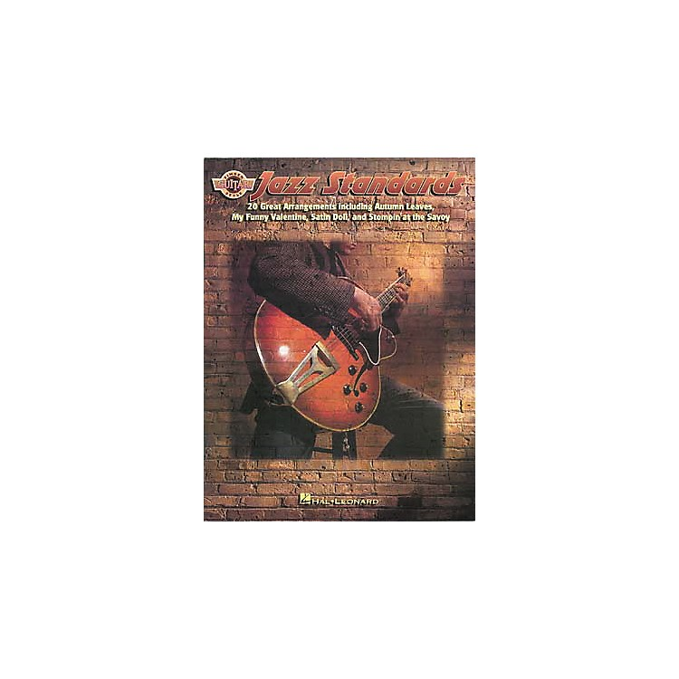 Hal Leonard Jazz Standards for Fingerstyle Guitar Book