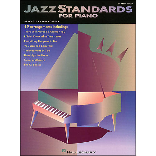 Hal Leonard Jazz Standards for Piano arranged for piano solo