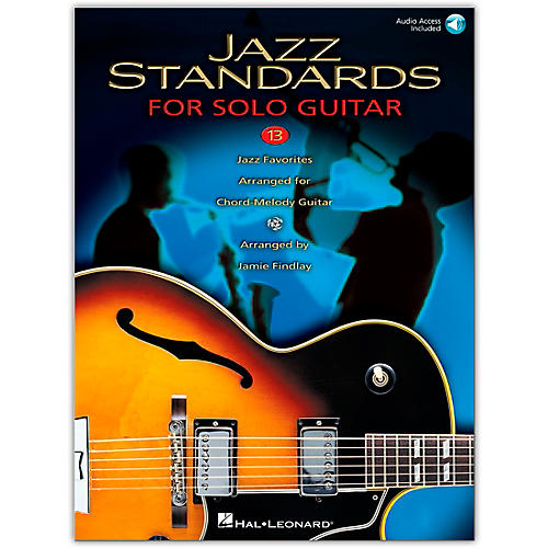 Hal Leonard Jazz Standards for Solo Guitar (Book/Online Audio)-thumbnail