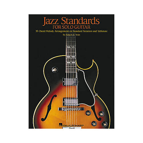 Hal Leonard Jazz Standards for Solo Guitar Tab Book