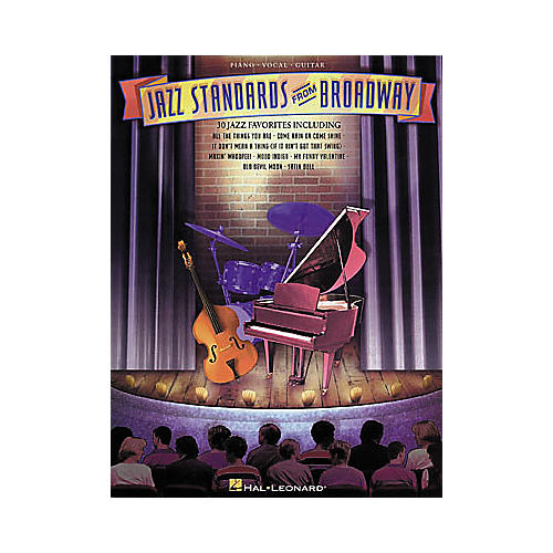 Hal Leonard Jazz Standards from Broadway Piano/Vocal/Guitar Songbook