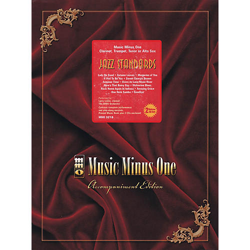 Music Minus One Jazz Standards with Rhythm Section (Book/2-CD Pack) Music Minus One Series BK/CD-thumbnail
