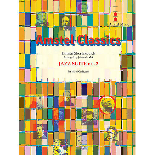 Amstel Music Jazz Suite No. 2 - Lyric Waltz Concert Band Level 3-5 Composed by Shostakovich Arranged by Johan de Meij-thumbnail