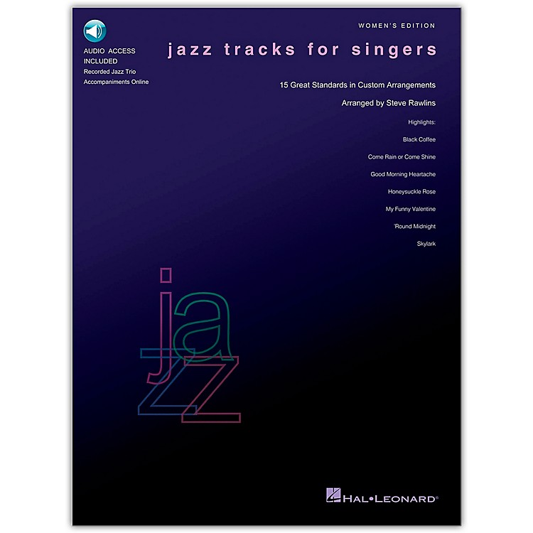 Hal Leonard Jazz Tracks for Singers - Women's Edition Book/CD