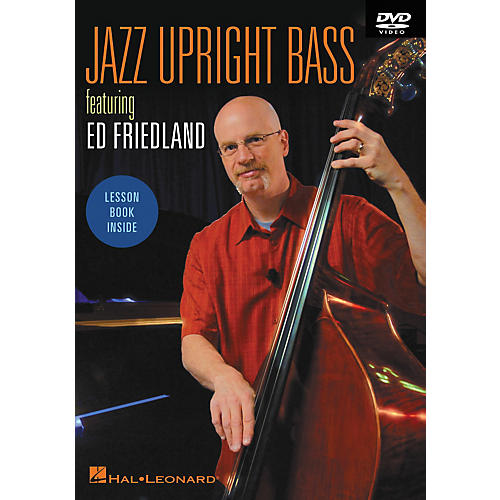 Hal Leonard Jazz Upright Bass DVD Featuring Ed Friedland