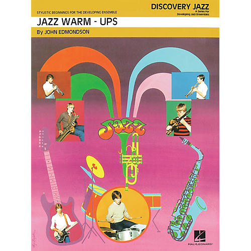 Hal Leonard Jazz Warm-Ups Jazz Band Level 1 Arranged by John Edmondson-thumbnail