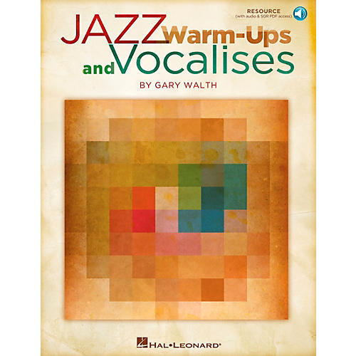 Hal Leonard Jazz Warm-ups and Vocalises Book and CD pak-thumbnail