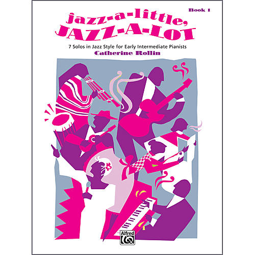 Alfred Jazz-a-Little Jazz-a-Lot Book 1 Piano-thumbnail