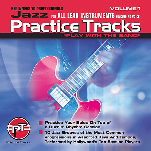 Practice Tracks Jazz for All Lead Instruments (CD)-thumbnail