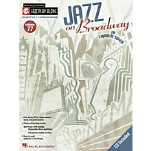 Hal Leonard Jazz on Broadway (Jazz Play-Along Volume 77) Jazz Play Along Series Softcover with CD