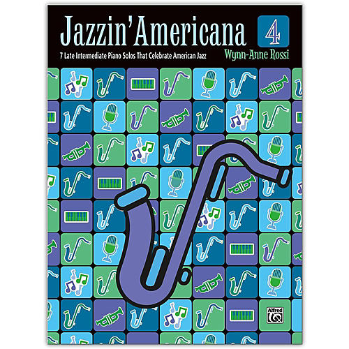 Alfred Jazzin' Americana Book 4 Late Intermediate-thumbnail