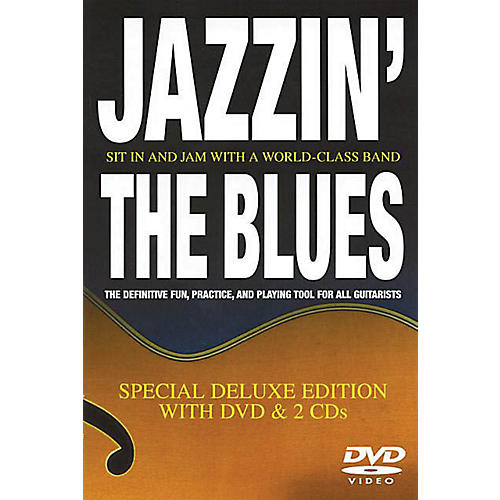 Music Sales Jazzin' the Blues (Special Deluxe Edition with DVD and 2 CDs) Music Sales America Series by Bill Boazman