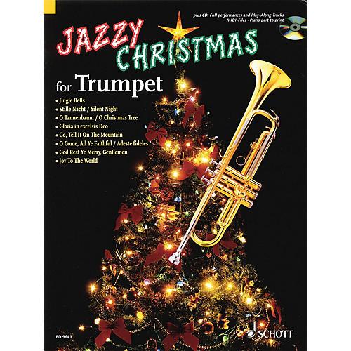 Schott Jazzy Christmas Schott Series Softcover with CD-thumbnail