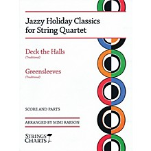 String Letter Publishing Jazzy Holiday Classics for String Quartet String Letter Publishing Series Softcover by Mimi Rabson