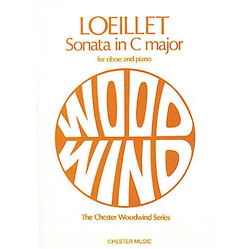 Music Sales Jean-Baptiste Loeillet: Sonata in C Major for Oboe and Piano Music Sales America Series