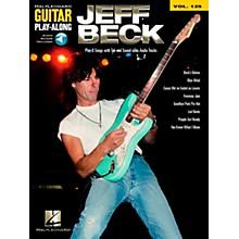 Hal Leonard Jeff Beck - Guitar Play-Along Volume 125 Book/CD