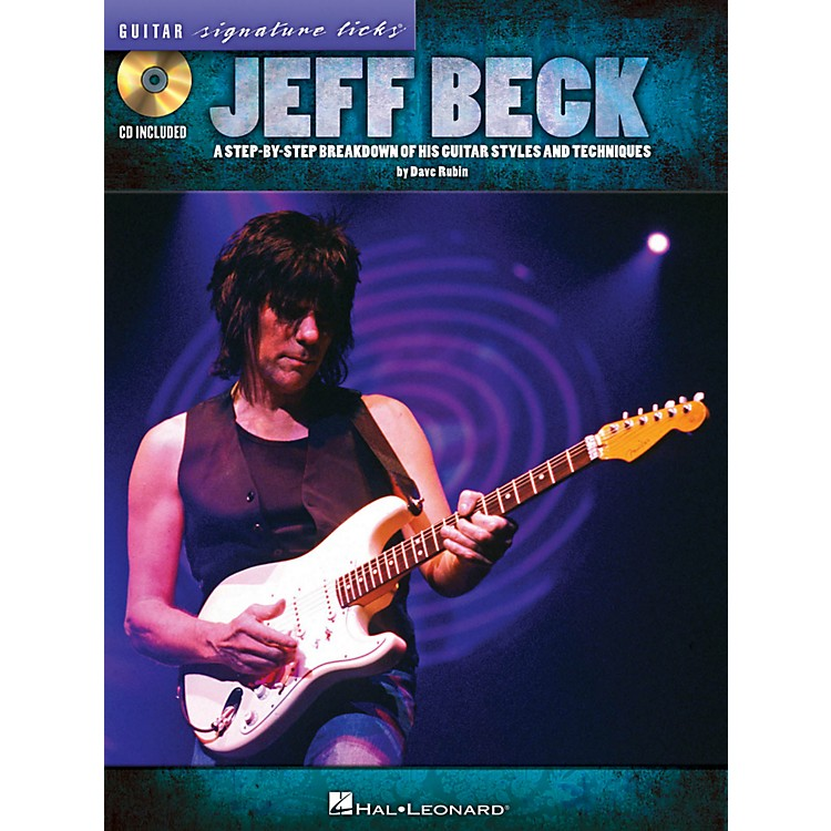 Hal LeonardJeff Beck Guitar Signature Licks Book/CD