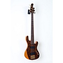 Cort Jeff Berlin Series Rithimic V Bass Guitar Level 2 Gloss Natural, Rosewood 190839021830