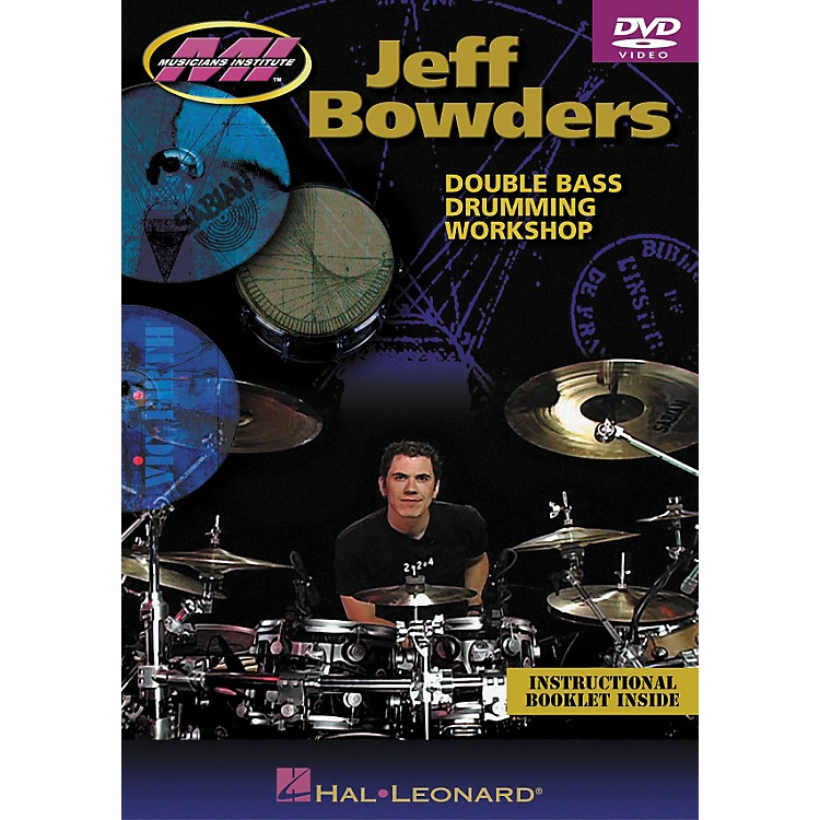 Hal Leonard Jeff Bowders - Double Bass Drumming Workshop DVD