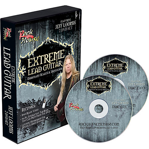 Rock House Jeff Loomis Extreme Lead Guitar: Dissonet Scales & Arpeggios