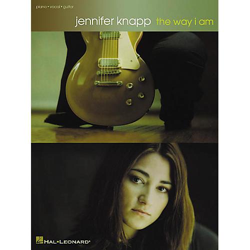 Hal Leonard Jennifer Knapp - The Way I Am Piano/Vocal/Guitar Artist Songbook