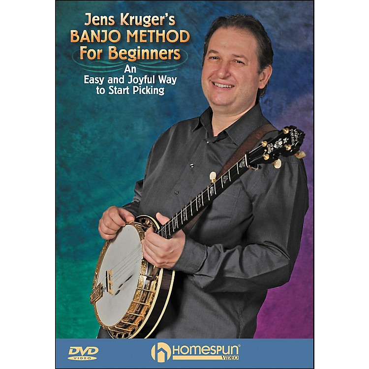 Homespun Jens Kruger's Banjo Method for Beginners DVD