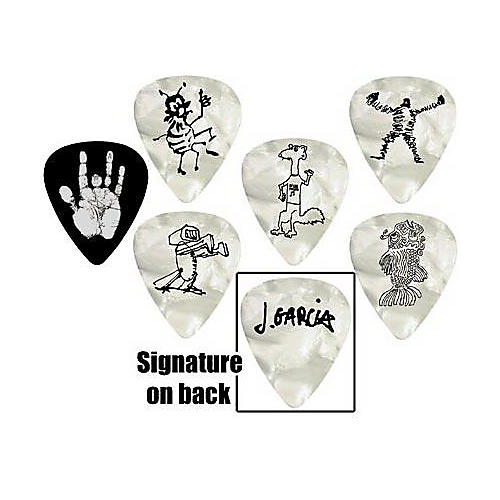 D'Addario Planet Waves Jerry Garcia Signature Guitar Picks