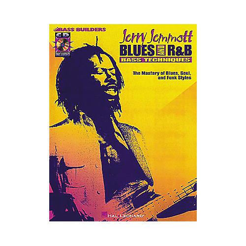 Hal Leonard Jerry Jemmott - Blues and Rhythm and Blues Bass Technique (Book/CD)-thumbnail