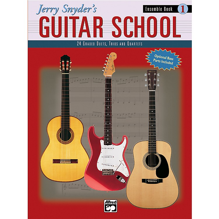 AlfredJerry Snyder's Guitar School Ensemble Book 1