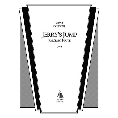 Lauren Keiser Music Publishing Jerry's Jump (Flute Solo) LKM Music Series Composed by David Stock-thumbnail