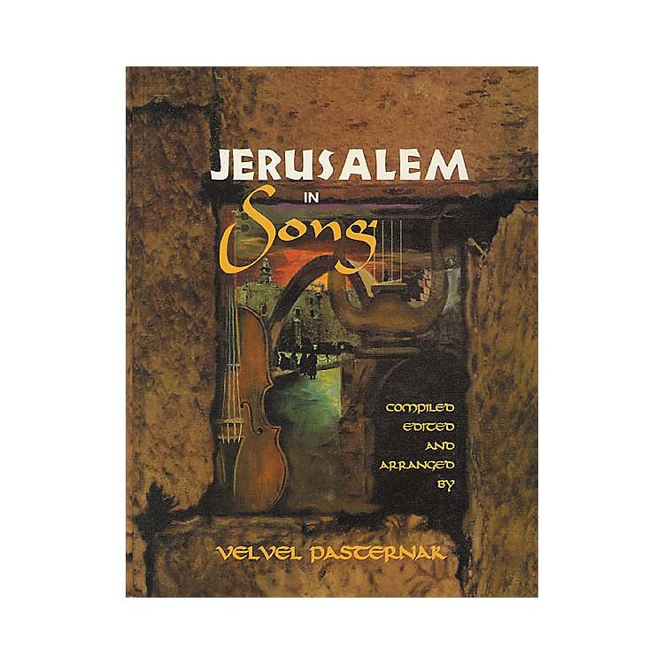 Tara PublicationsJerusalem In Song Book with CD