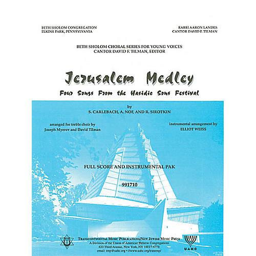 Transcontinental Music Jerusalem Medley (Instrumental Pak) Combo Parts arranged by Elliot Weiss-thumbnail