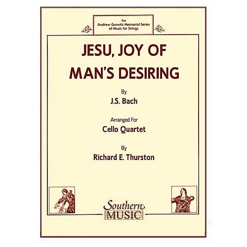 Southern Jesu, Joy of Man's Desiring (Cello Quartet) Southern Music Series Arranged by Richard E. Thurston-thumbnail