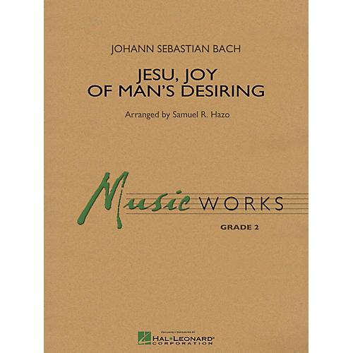 Hal Leonard Jesu, Joy of Man's Desiring Concert Band Level 2 Arranged by Samuel R. Hazo-thumbnail