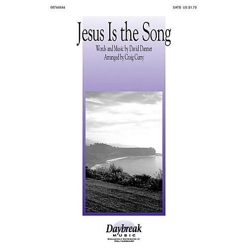 Hal Leonard Jesus Is the Song SATB arranged by Craig Curry