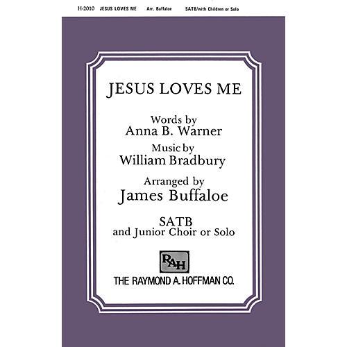 Fred Bock Music Jesus Loves Me SATB arranged by James Buffaloe-thumbnail