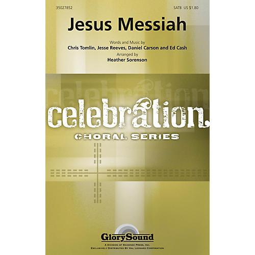 Shawnee Press Jesus Messiah (Celebration Choral Series) Studiotrax CD Arranged by Heather Sorenson