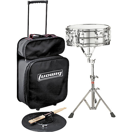 Ludwig Jet Pak Snare Drum Kit Concert Drums