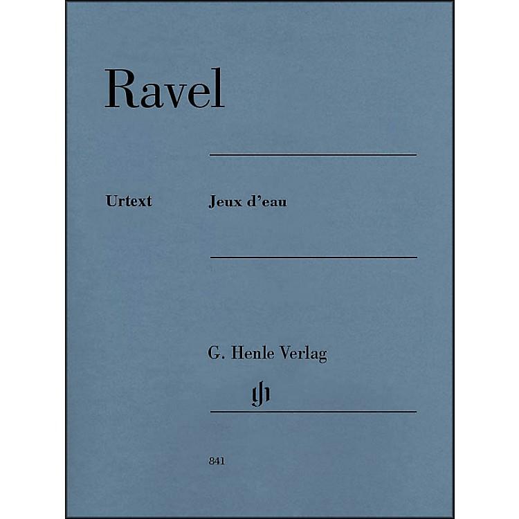 G. Henle VerlagJeux d'eau Piano Solo By Ravel
