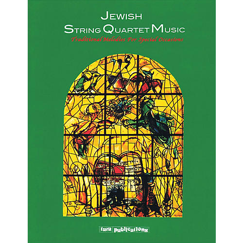 Tara Publications Jewish String Quartet Music Tara Books Series Softcover with CD-thumbnail