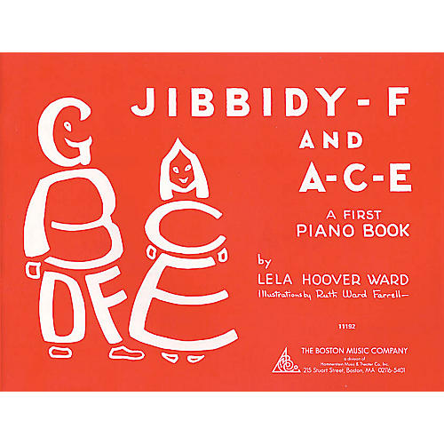 Music Sales Jibbidy-F and A-C-E (A Child's First Piano Book) Music Sales America Series Softcover